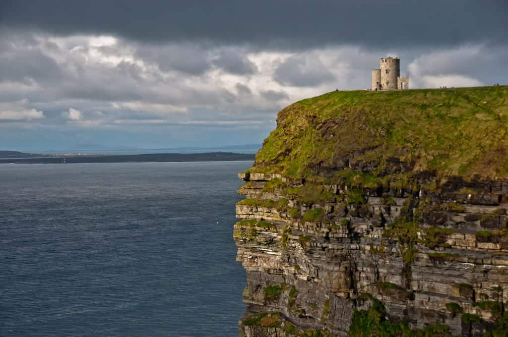 The workshop will stop at the Cliffs of Moher after leaving Shannon Airport on their first day in Ireland. Image by