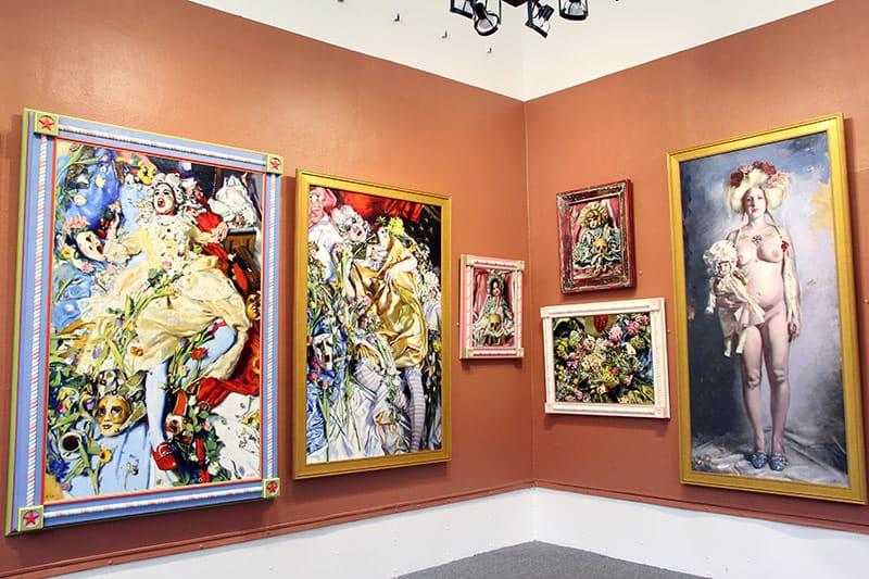 """""""Teresa Oaxaca: Misfits"""" exhibit"""